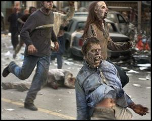 The 'forthcoming' zombie apocalpyse.