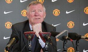 A pensive Alex Ferguson