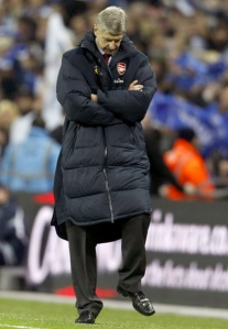 A sullen Wenger